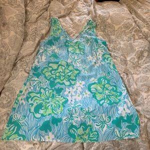 Lilly Pulitzer Calissa dress in Lagoon sz 14